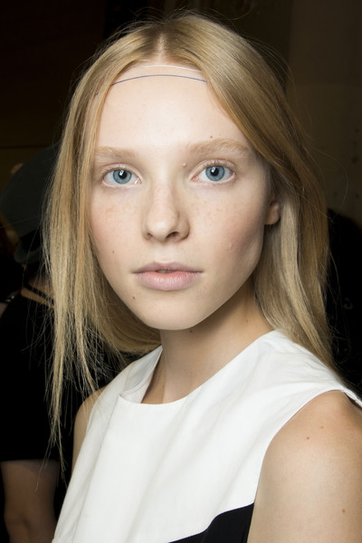 Christian Wijnants at Paris Spring 2014 (Backstage)