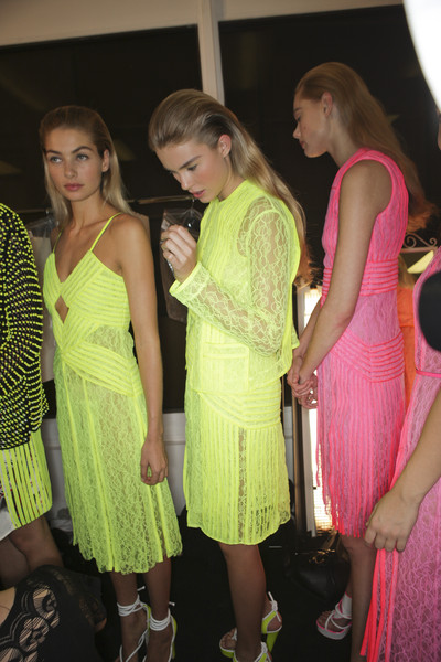Christopher Kane at London Spring 2011 (Backstage)