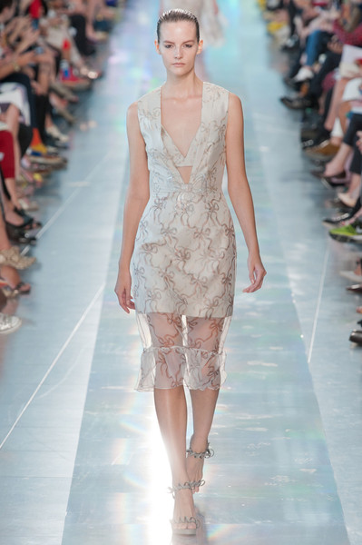 Christopher Kane at London Spring 2013