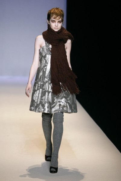 Collette Dinnigan at Paris Fall 2007
