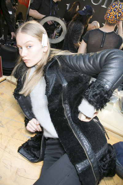 Costume National at Paris Fall 2013 (Backstage)