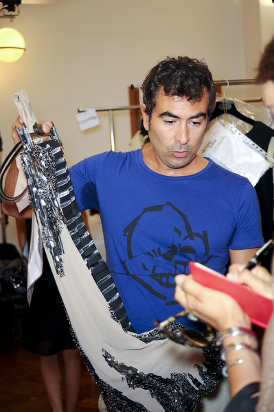 Cristiano Burani at Milan Spring 2012 (Backstage)