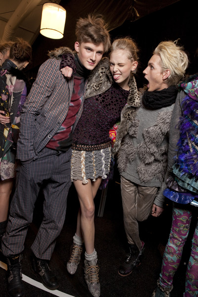 Custo Barcelona at New York Fall 2010 (Backstage)