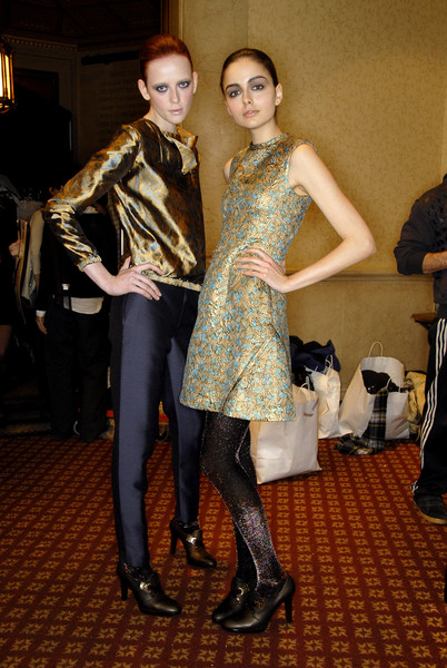 Cynthia Rowley at New York Fall 2007 (Backstage)