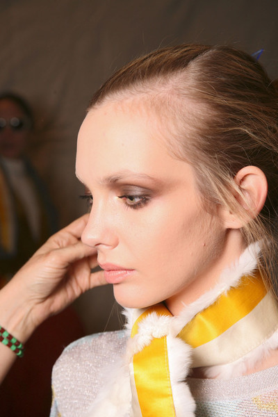 Cynthia Rowley at New York Fall 2011 (Backstage)