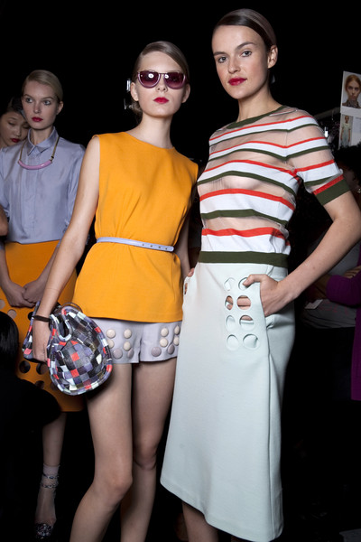 Cynthia Rowley at New York Spring 2011 (Backstage)