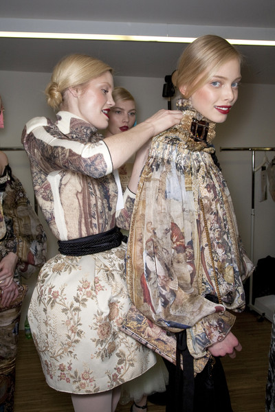 D&G at Milan Fall 2009 (Backstage)