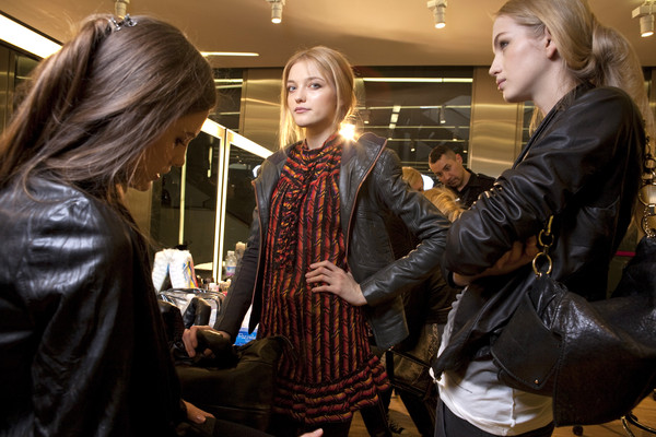D&G at Milan Fall 2010 (Backstage)
