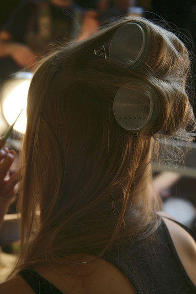 DKNY at New York Fall 2011 (Backstage)