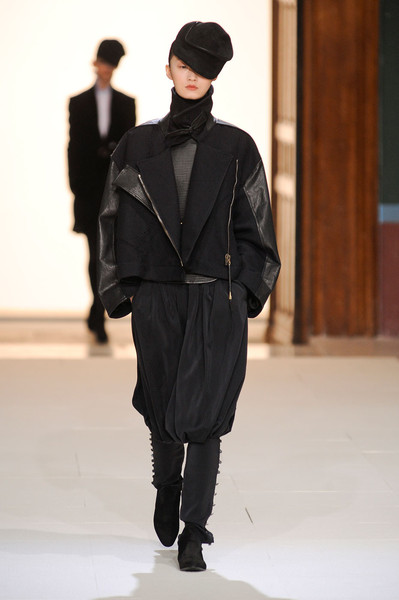 Damir Doma at Paris Fall 2012
