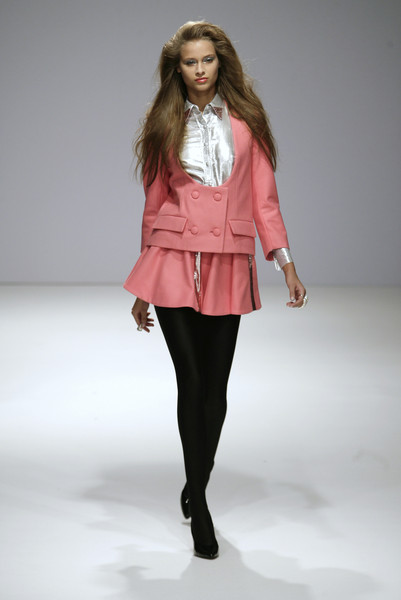 Danielle Scutt at London Fall 2007