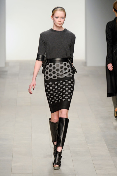 David Koma at London Fall 2011