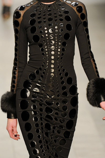 David Koma at London Fall 2011 (Details)