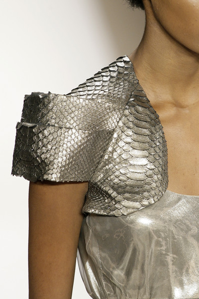 Dennis Basso at New York Spring 2010 (Details)