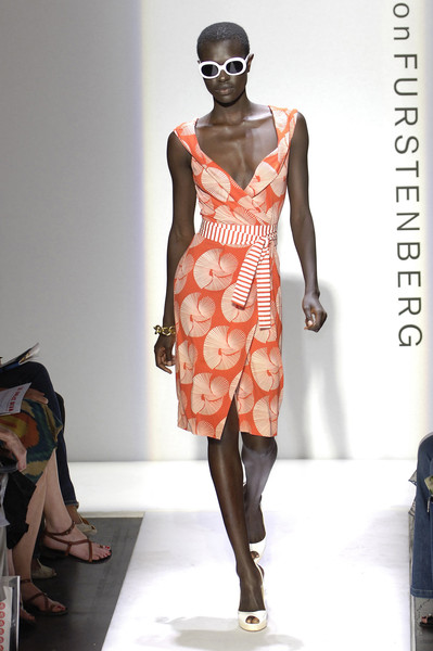 Diane von Furstenberg at New York Spring 2006