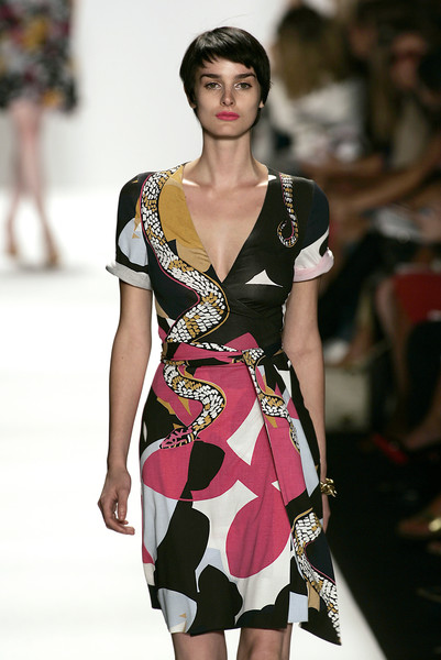 Diane von Furstenberg at New York Spring 2007