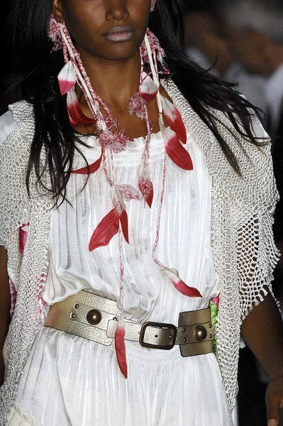 Diane von Furstenberg at New York Spring 2009 (Details)