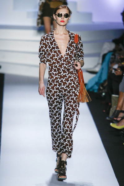 Diane von Furstenberg at New York Spring 2011