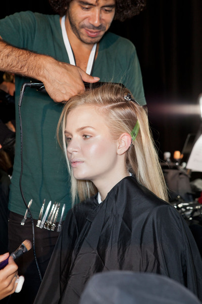Diesel Black Gold at New York Spring 2013 (Backstage)