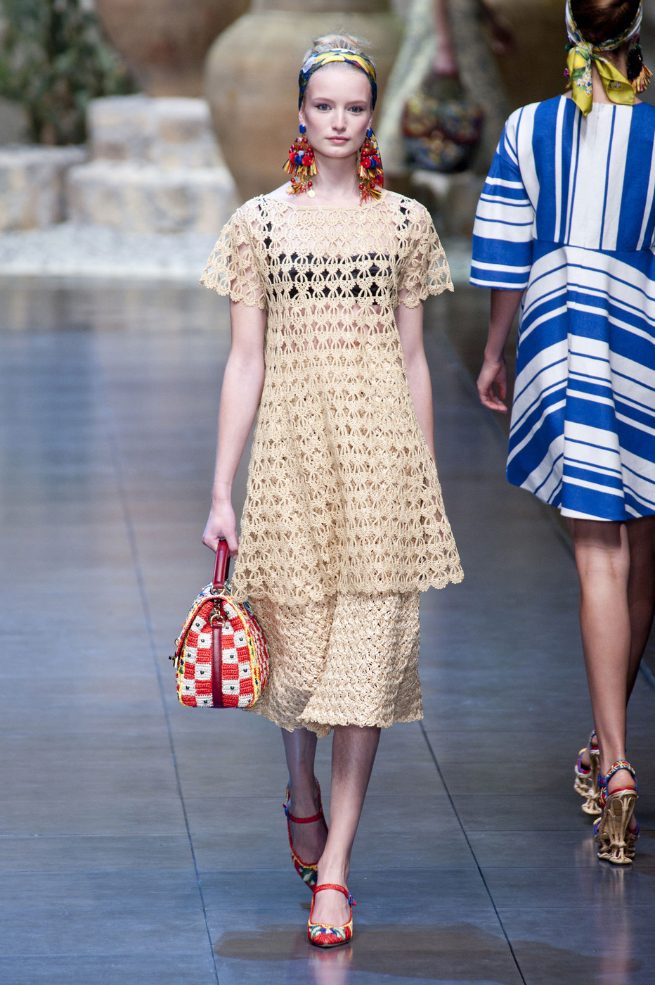 ef0d7bc24058 Dolce   Gabbana Spring 2013 Runway Pictures - Livingly