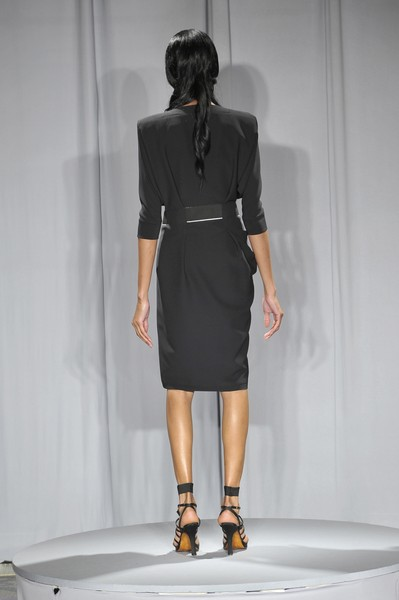 Dominique Sirop at Couture Fall 2009