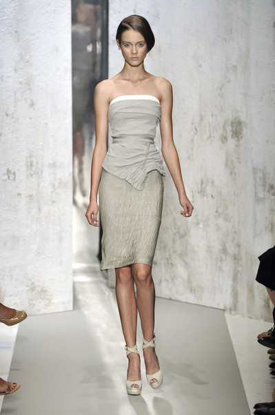 Donna Karan at New York Spring 2010