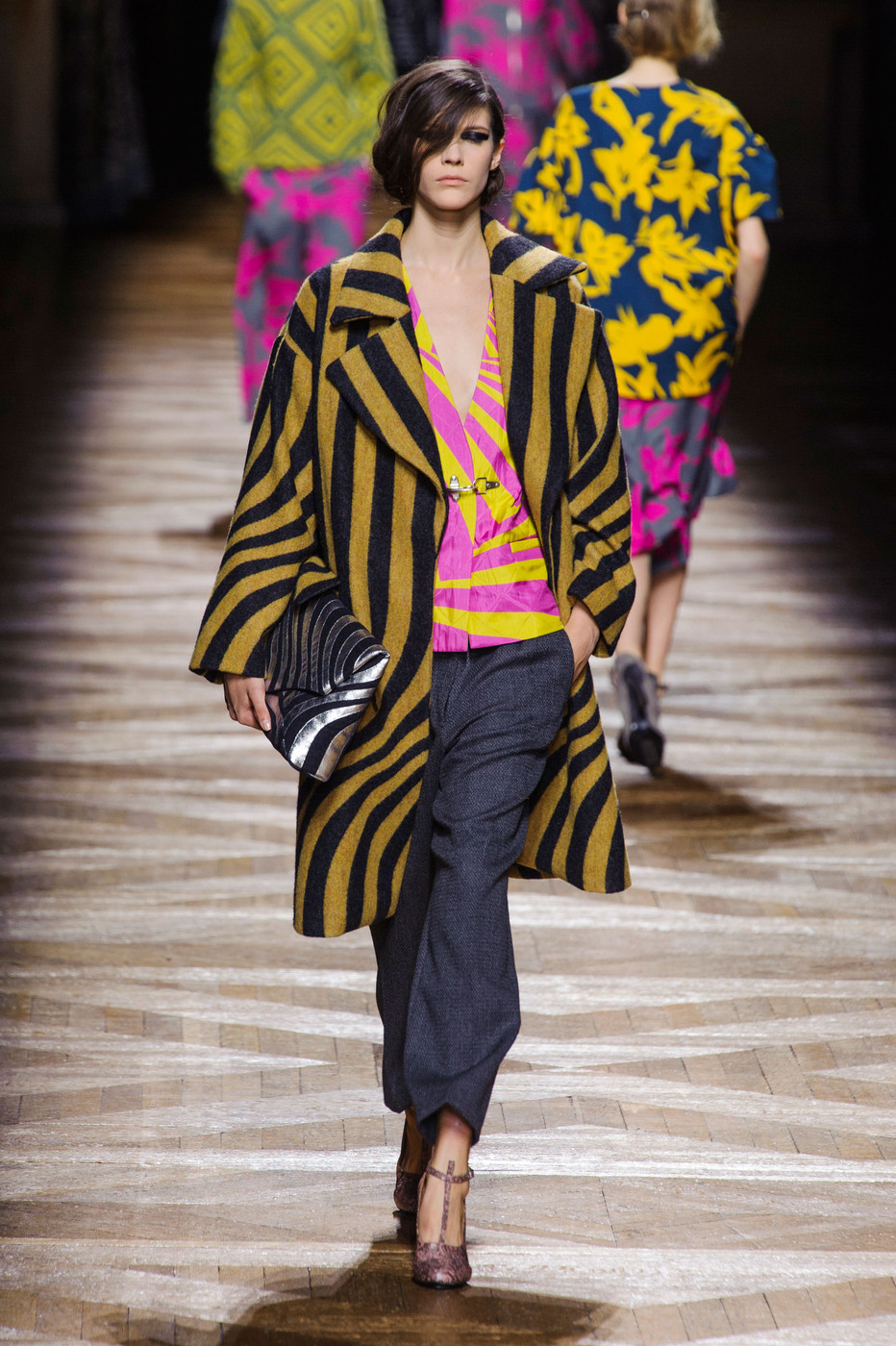 Dries Van Noten at Paris Fashion Week Fall 2014