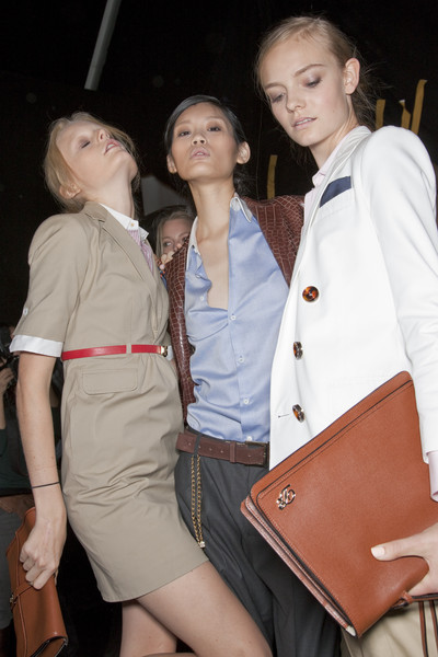 Dsquared² at Milan Spring 2011 (Backstage)