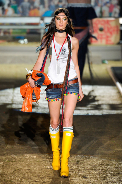 Dsquared² at Milan Spring 2012