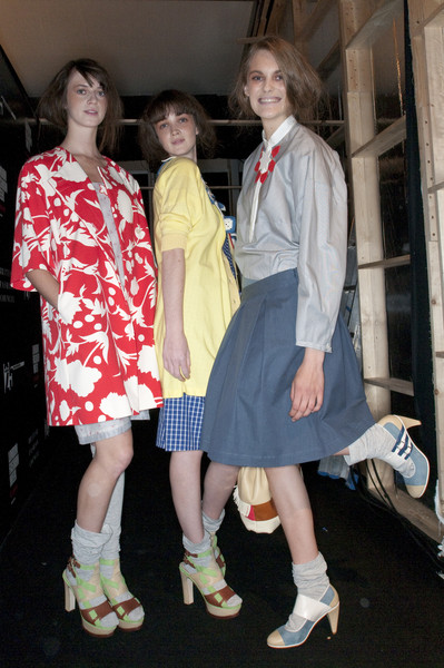 Eley Kishimoto at London Spring 2010 (Backstage)