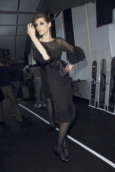 Elie Saab at Paris Fall 2008 (Backstage)
