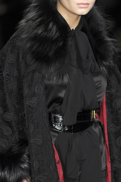 Elie Saab at Paris Fall 2008 (Details)