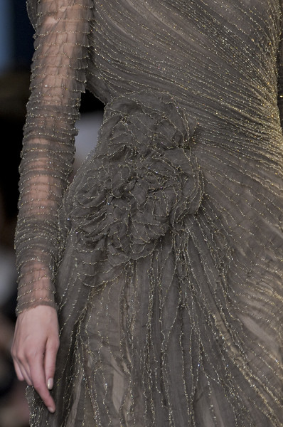Elie Saab Couture Details, Fall 2010