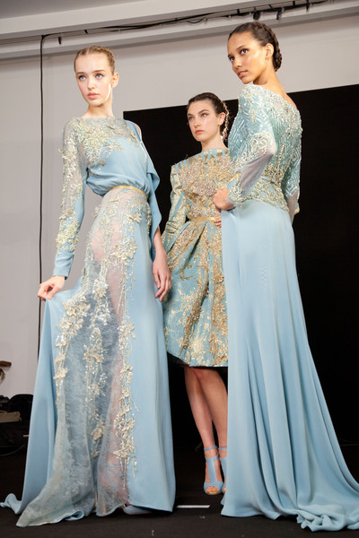 Elie Saab at Couture Fall 2012 (Backstage)