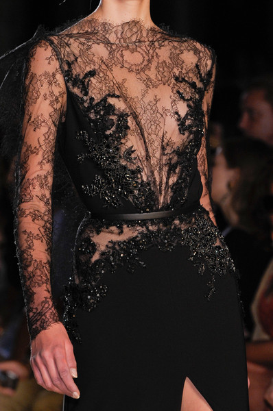 Elie Saab at Couture Fall 2012 (Details)