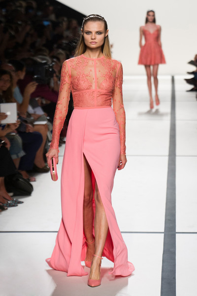 Elie Saab at Paris Spring 2014