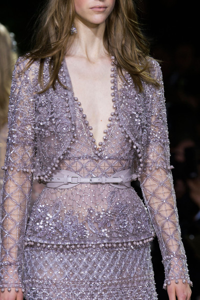 Elie Saab at Couture Spring 2016 (Details) [fashion model,fashion,fashion show,clothing,haute couture,runway,long hair,event,transparent material,neck,dress,fashion,runway,haute couture,clothing,model,fashion model,fashion week,couture spring 2016,fashion show,runway,haute couture,fashion,clothing,model,fashion show,fashion week,dress]