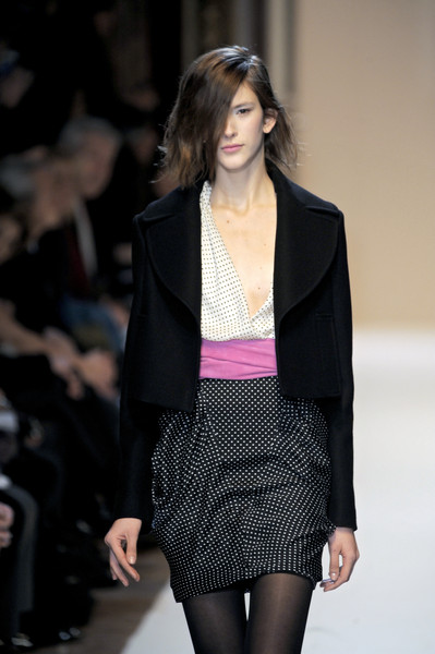 Emanuel Ungaro at Paris Fall 2010