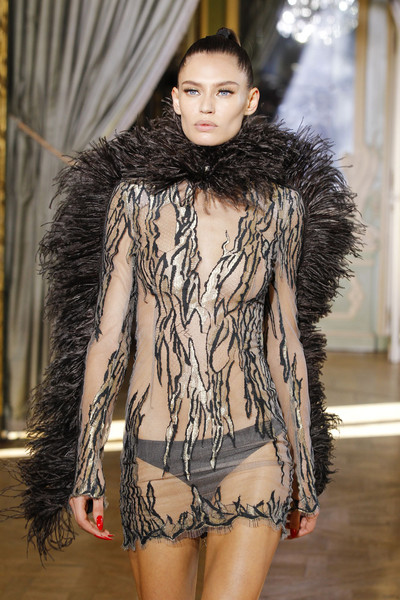 Emanuel Ungaro at Paris Fall 2011