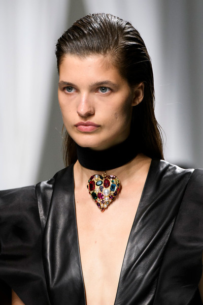 Emanuel Ungaro at Paris Spring 2017 (Details) [hair,face,hairstyle,beauty,fashion,eyebrow,lip,fashion model,model,fashion accessory,jewellery,supermodel,emanuel ungaro,fashion,model,fashion week,spring,haute couture,paris fashion week,fashion show,fashion,paris fashion week,fashion show,haute couture,model,supermodel,fashion week,jewellery,paris,spring]