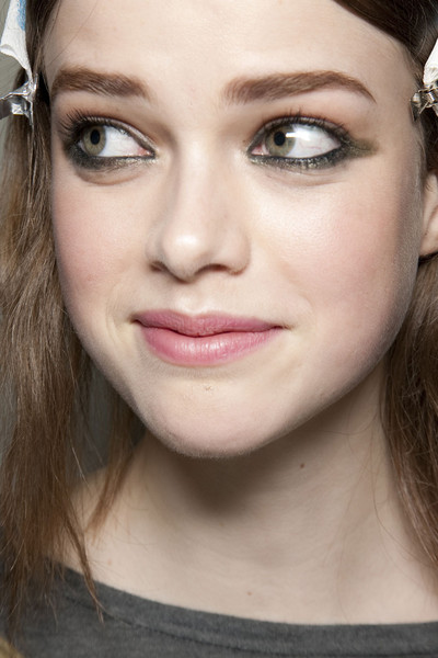 Emilio Pucci at Milan Fall 2011 (Backstage)