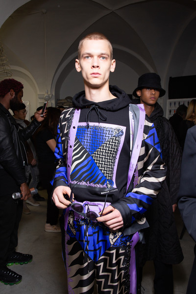 Emilio Pucci at Milan Fall 2020 (Backstage)