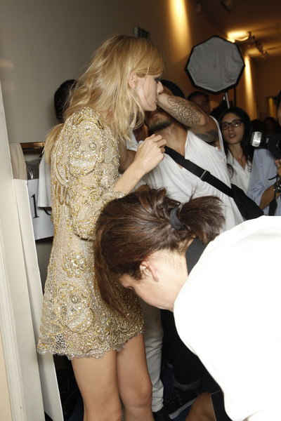 Emilio Pucci at Milan Spring 2012 (Backstage)