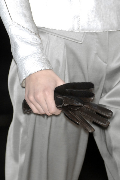 Emporio Armani at Milan Fall 2008 (Details)