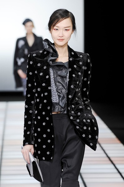 Emporio Armani at Milan Fall 2012
