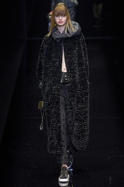 Emporio Armani at Milan Fall 2017