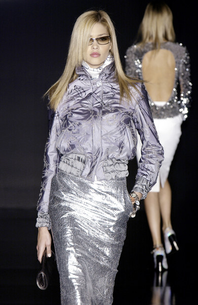 Enrico Coveri at Milan Fall 2003