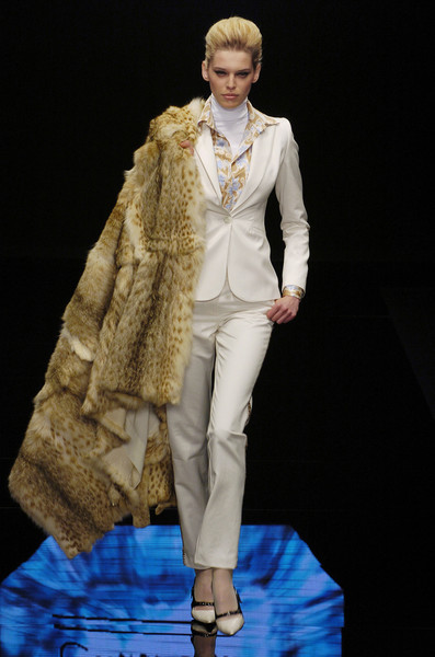 Enrico Coveri at Milan Fall 2004