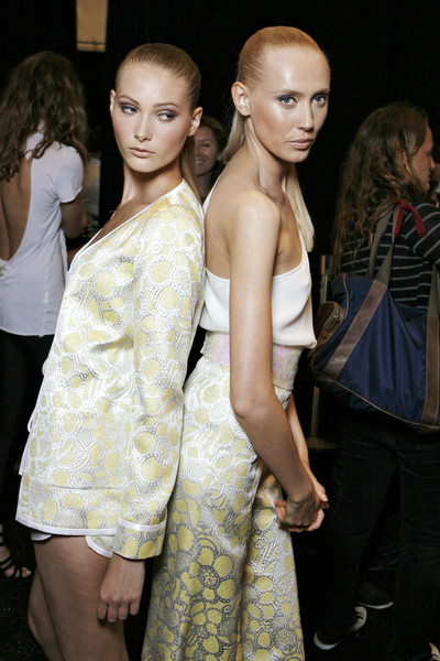 Erin Fetherston at New York Spring 2009 (Backstage)
