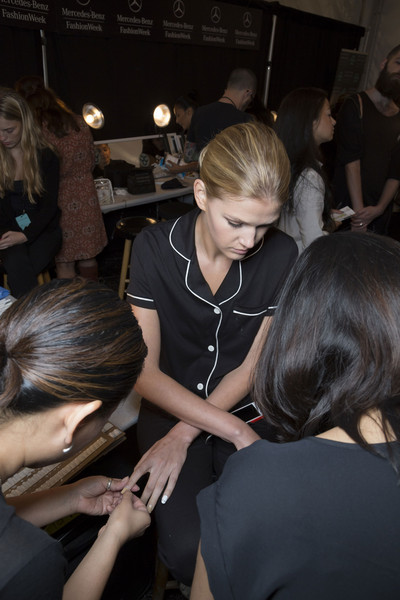 Erin Fetherston at New York Spring 2015 (Backstage) [hairstyle,fashion,event,fun,hand,interaction,design,crowd,blond,socialite,erin fetherston,hairstyle,fashion,fun,hand,beauty.m,new york fashion week,event,fashion,socialite,hairstyle,blond,event,beauty.m,hair salon hairstyle m]